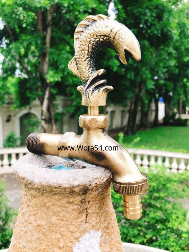 Washing machine faucet ก๊อกน้ำตกแต่งสวน