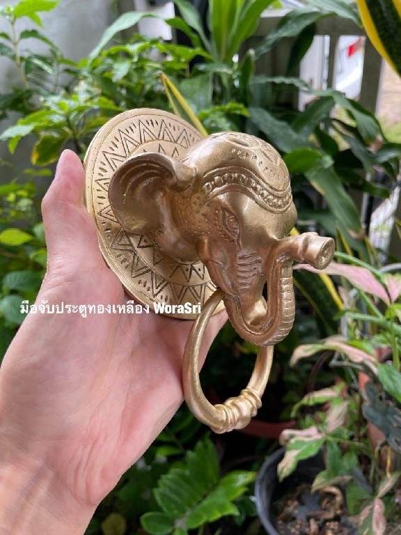 Door Brass Handle decorative