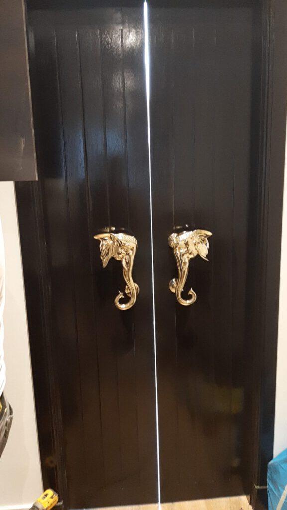 Door Brass Elephant